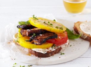 Heirloom Tomato Sandwich