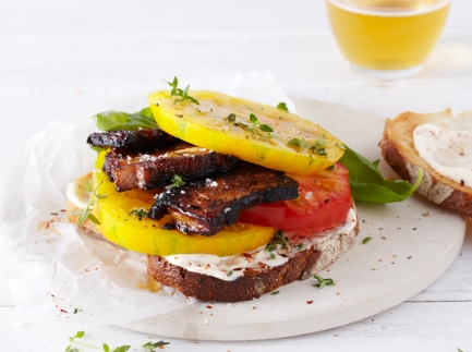 Heirloom Tomato Sandwich