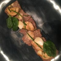 Seared Beef with Monkfish Liver — Quintullis Marketing And Gastronomic Recruiting Agent