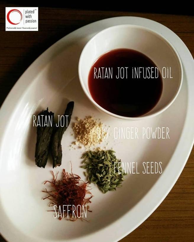 Ingredients for Roganjosh