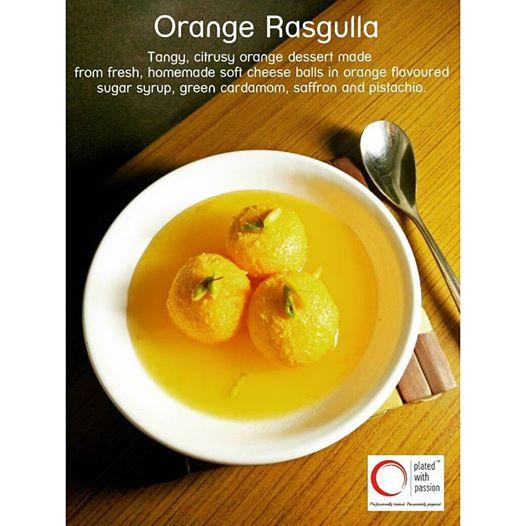Orange Rasgulla 1
